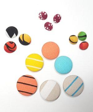 Knappar - klädda knappar